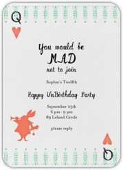 7 best chloe birthday invite images on pinterest birthday party cute online invite from paperless post a very happy unbirthday alice in wonderland stopboris Images