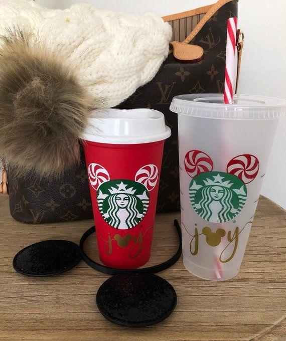 Starbucks Christmas Cups.Authentic Starbucks Venti Cold Cup Custom Starbucks Tumbler