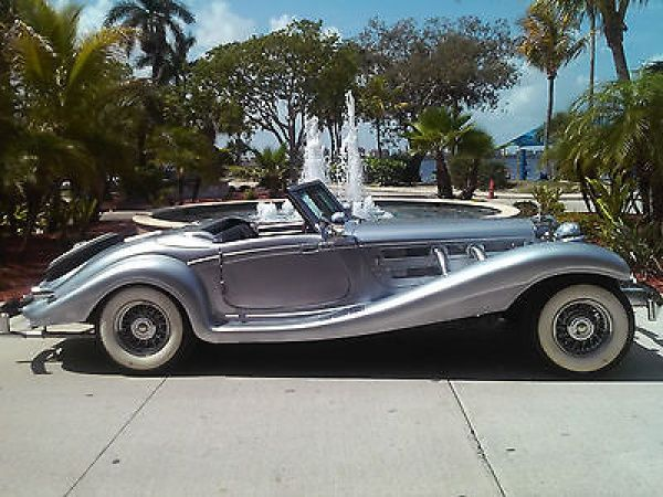 Replica kit makes mercedes benz 500k roadster 1934 for 1934 mercedes benz 500k heritage replica