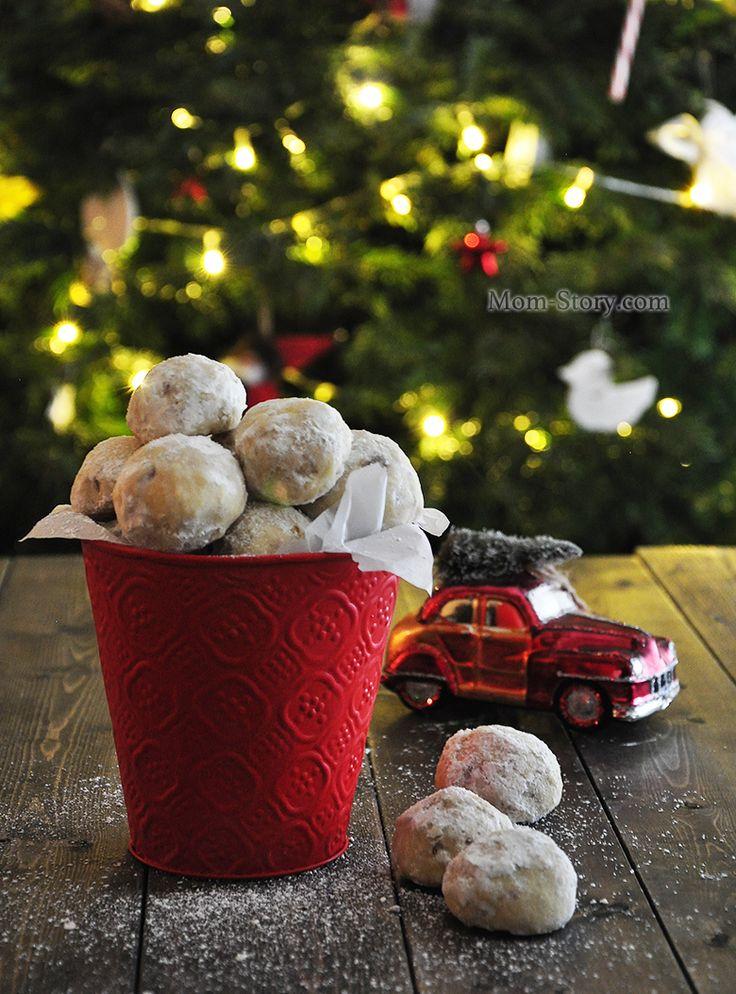 Простое печенье снежки рецепт с фото