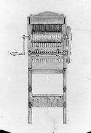 Eli Whitney's cotton gin | Within 10 years after the cotton gin was put into use, the value of the total United States crop leaped from $150,000 to more than $8 million. This success of this plantation crop made it much more difficult for slaves to purchase their freedom or obtain it through the good will of their masters.