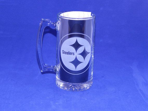 Team Logo Mugs by MagicallyEtched on Etsy, $15.00