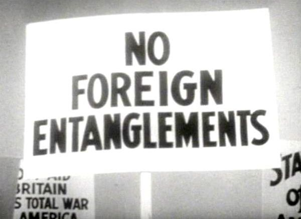 04 Nov 39: Although President Roosevelt has declared American neutrality in the war in Europe, a Neutrality Act is signed that allows the US to send arms and other aid to belligerent nations (namely Britain and France) on a cash-and-carry basis, thus in effect ending the arms embargo. More: http://scanningwwii.com/a?d=1104&s=391104 #WWII