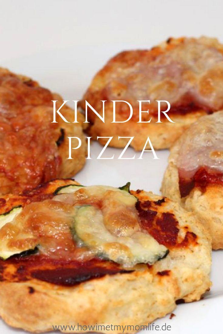 Hier findet ihr eine leckere Kinder Pizza, die auch BLW geeignet ist. Auf meinem Blog ist ein Rezept für eine große Familienpizza und eines für Mini Pizzen!