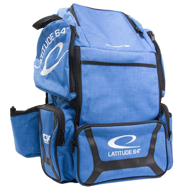 Latitude 64 DG Luxury E3 Blue/ Disc Golf Backpack