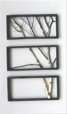 DIY Wall Decor. Simple but there's something to it