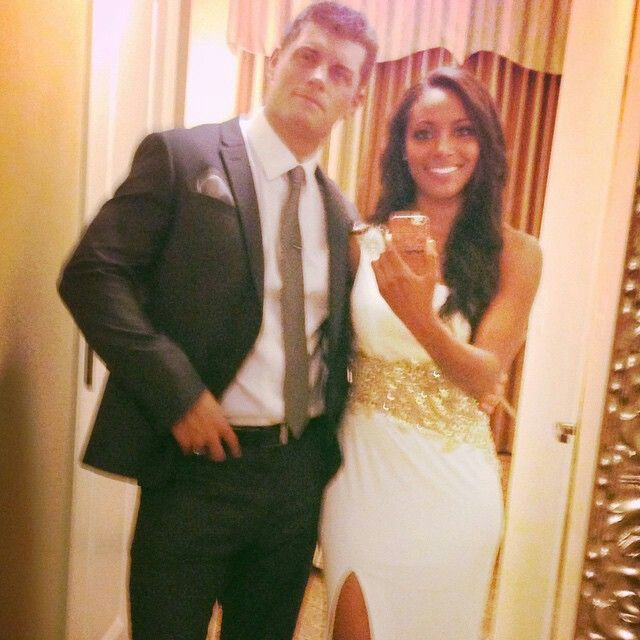 Gorgeous interracial couple - WWE Superstar Cody Rhodes and his wife Brandi #love #wmbw #bwwm