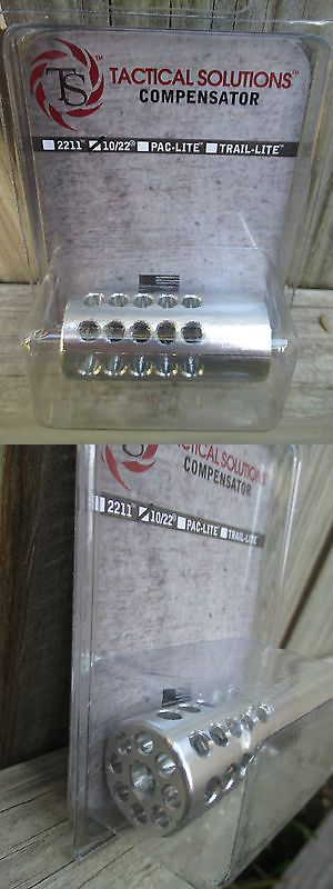 Rifle 73949: New Ruger 10/22 Compensator In Silver By Tactical Solutions .920 -> BUY IT NOW ONLY: $34.49 on eBay!