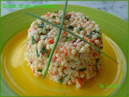 Salade de perles Océane