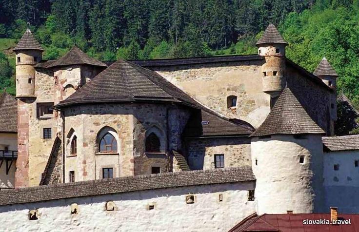 Slovakia, Banská Štiavnica - Old Castle
