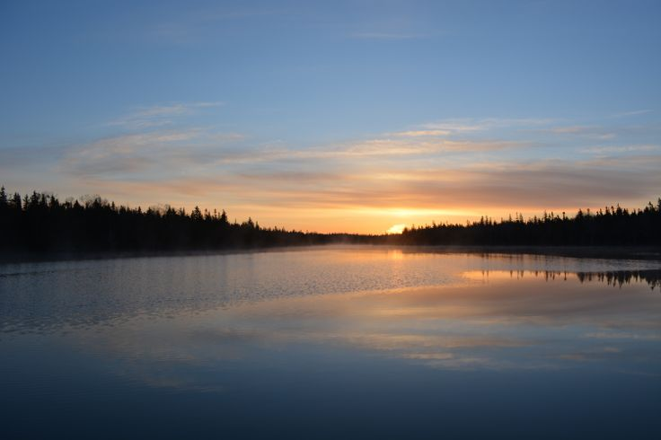 Bras d'Or sunrises are the best!