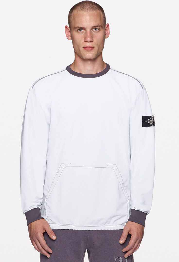 4892ac74204 Stone Island SS '019_ 62054 Reflective Sweat on stoneisland.com ...