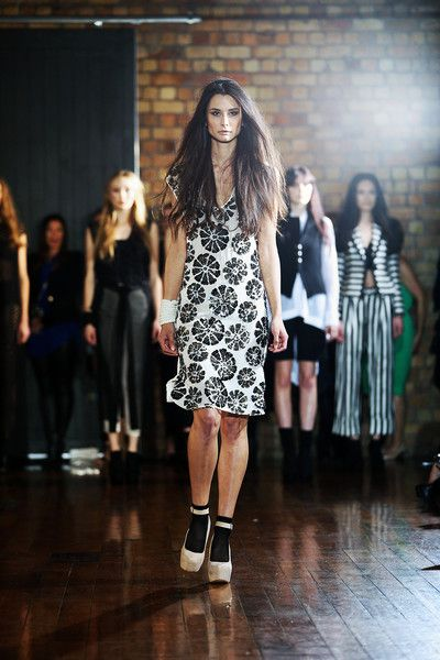 taylor 'Incision' collection SS13 - Epoch Dress. Photo by Won at W Studio #NZFW