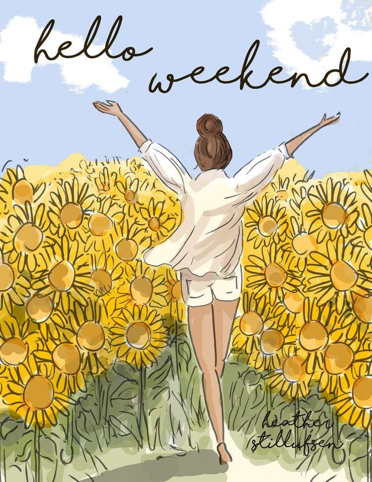 Hello Weekend...-xx