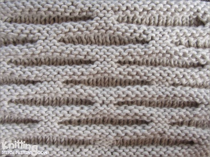 Honeycomb stitch | knittingstitchpatterns.com
