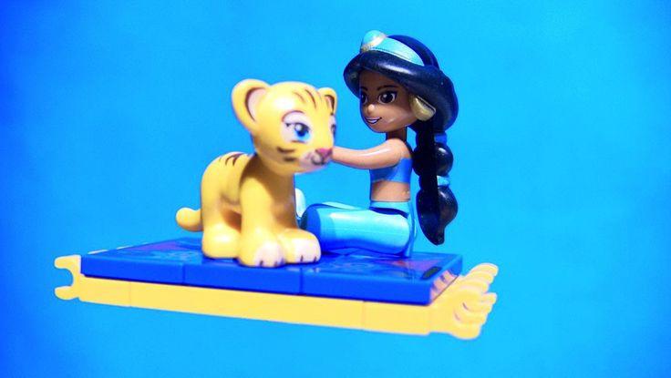 LEGO Toys for Kids | ♥ LEGO Disney Princess Jasmine's Exotic Palace stop motion build video: https://youtu.be/HOQK6iQ_oJ4