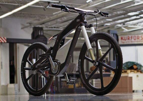 Audi elektrisches fahrrad