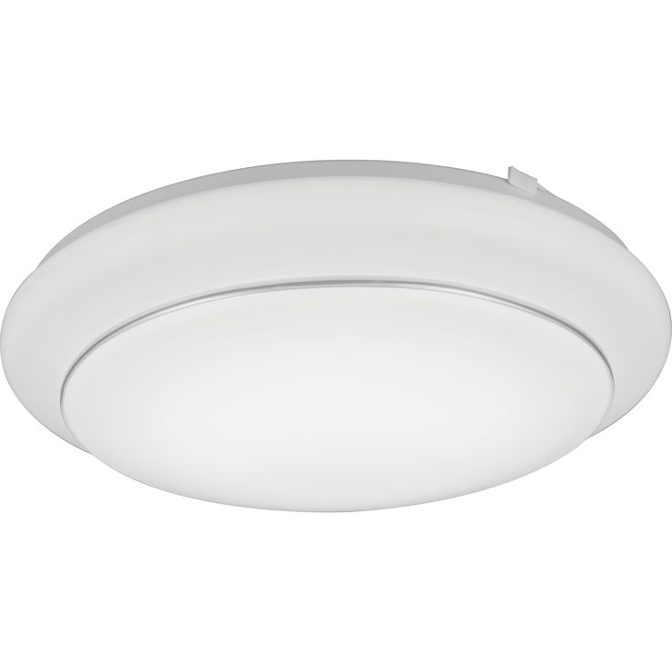 Lithonia Lighting Fmbanl 14 20830 KR M4 Bandon LED 3000K Flush Mount 14-inch Round Ceiling Light