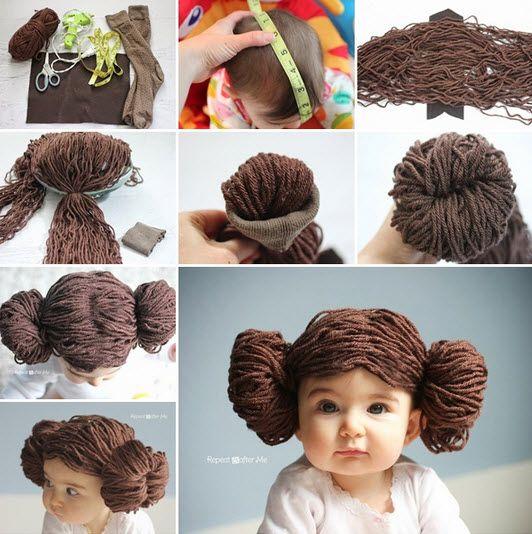 Comment faire une jolie perruque en laine de la Princesse Leia • Quebec echantillons gratuits
