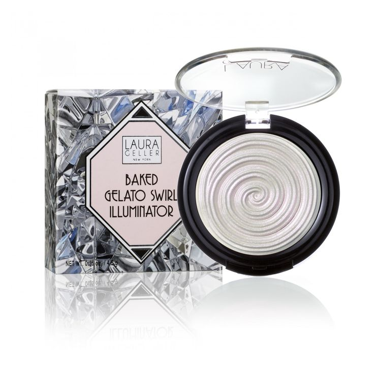 NEW Diamond Dust Baked Gelato Swirl Illuminator Limited Edition | Laura Geller