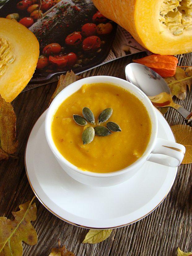 Pikantna zupa z dyni i chili