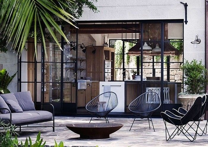 Hardscaping 101: Steel Factory-Style Windows and Doors