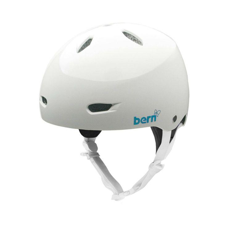 Berkeley Woman #Helmet #White Glossy