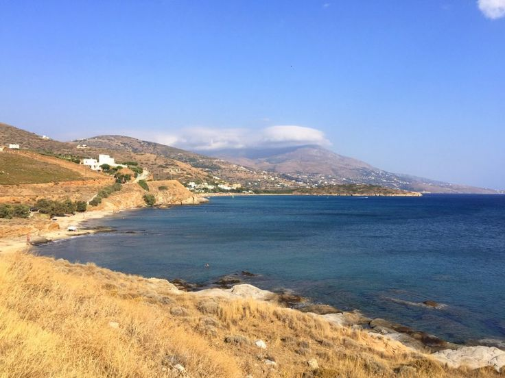 A beautiful beach on Andros