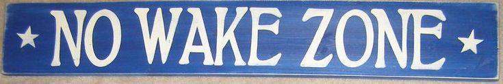 No Wake Zone Sign Wood Surf Lake Beach Nautical U Pick Color Wood Plaque | eBay