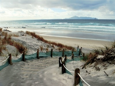 New Zealand coastline where our inspiration is drawn for our coastline rings