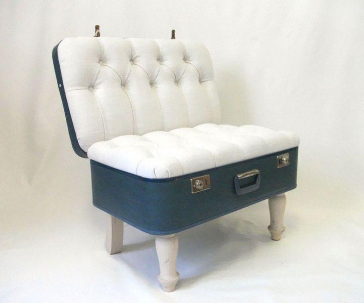 28 chaises design originales fauteuil valise 1 28 chaises design où quand le mobilier devient de lart photo image fauteuil design chaise...