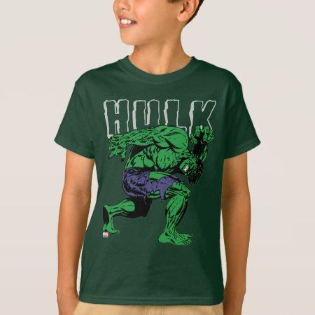 Hulk Retro Lift T-Shirt - tap to personalize and get yours
