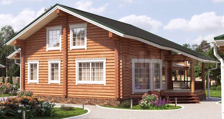 Проект деревянного дома — Дом Охотника — ДО-196