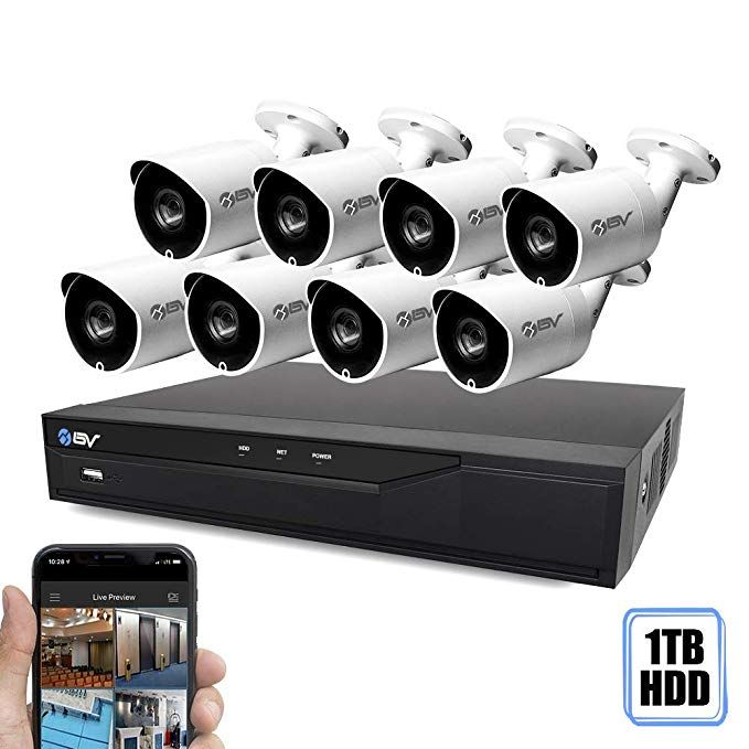 Best Vision 16ch 4 In 1 Hd Dvr Security Camera System 1tb Hdd 8pcs 1 3 Mp High Defini In 2020 Home Security Systems Security Cameras For Home Security Camera System