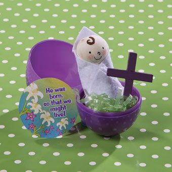 Gospel in an Eggshell   Looking for religious Easter craft for kids? This Easter egg project is a fun, hands-on way for kids to learn about Jesus.