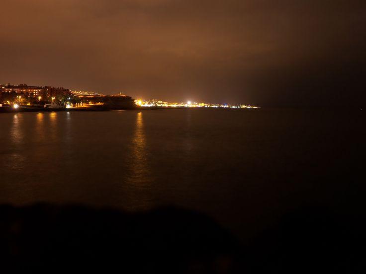 Playa de las Americas y Los Cristianos at night tenerife ♡ travel