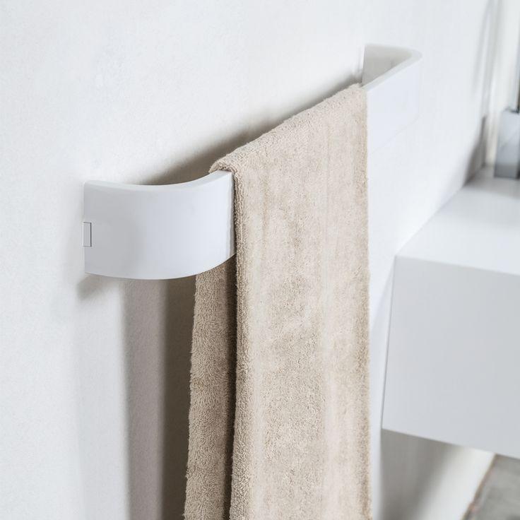 #Cipì #White #Diamond #Handtuchhalter 60 cm CP430/WS | Acrylic Stone | im Angebot auf #bad39.de 80 Euro/Stk. | #Italien #Modernes #Bad #Accessoires #Badezimmer #Einrichtung #Ideen #Gadgets