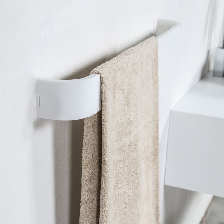#Cipì #White #Diamond Barra Towel 60 cm CP430/WS | #Acrylic Stone | on #bathroom39.com at 80 Euro/pz | #accessories #bathroom #Modern #complements #items #gadget