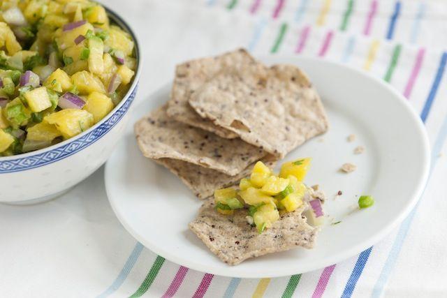 Spicy Avocado and Pineapple Salsa Recipe-2