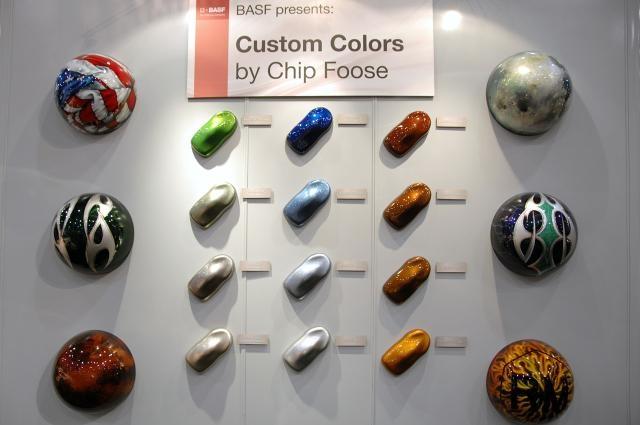Chip Foose BASF colours