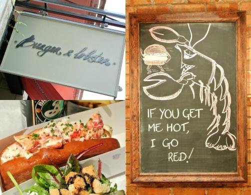 Burger & Lobster, Soho... yummy!