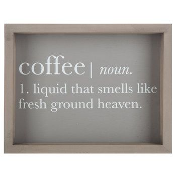 Coffee Definition Wall Art - Hobby Lobby