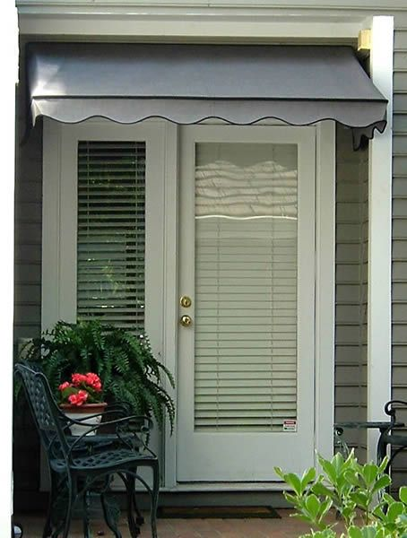 Front door awning in Raleigh, NC