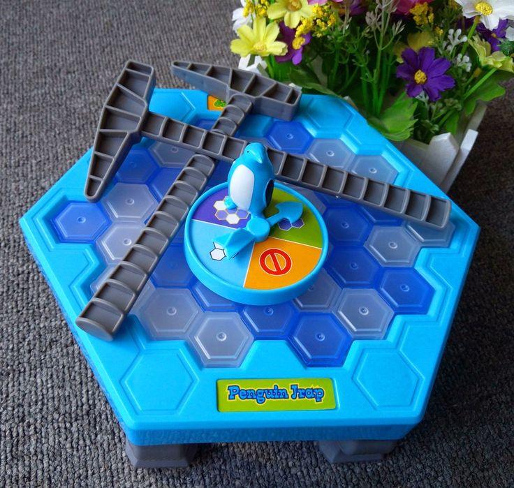 Mesa interactiva para Romper El Hielo Pingüino pingüino trampa Trampa juguetes antiestrés activar divertido juguete para niños Familia divertido juego zg007