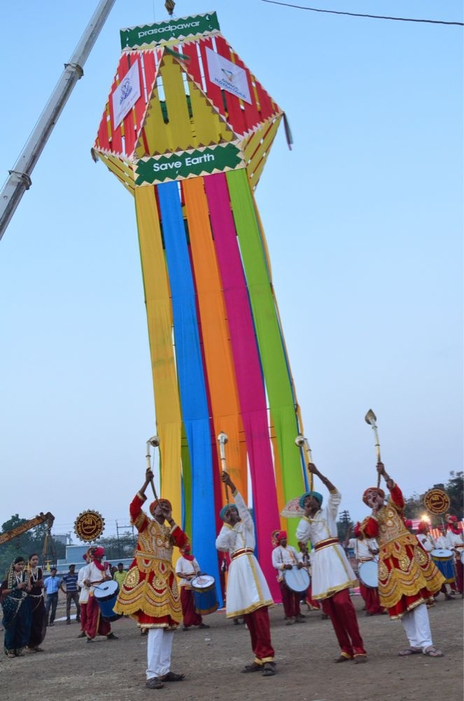 Largest Hanging Lantern (Kandeel) http://www.worldrecordsindia.com by Prashad Pawar Foundation.