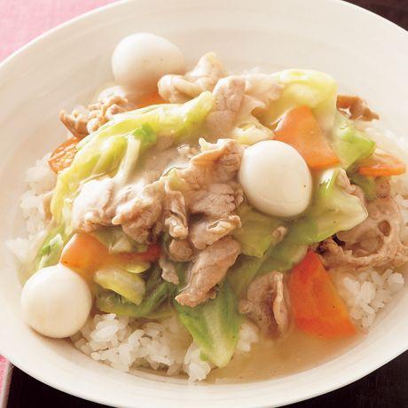 彩り中華丼   重信初江さんのどんぶりの料理レシピ   プロの簡単料理レシピはレタスクラブニュース