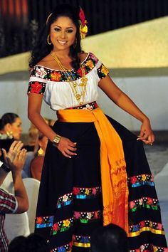 Traditional Mexican dresses