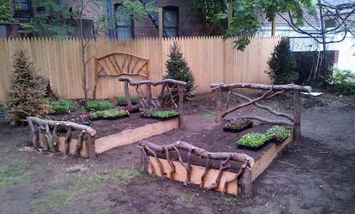 Raised And Enclosed Garden Bed Garden Design Easy 400 x 300
