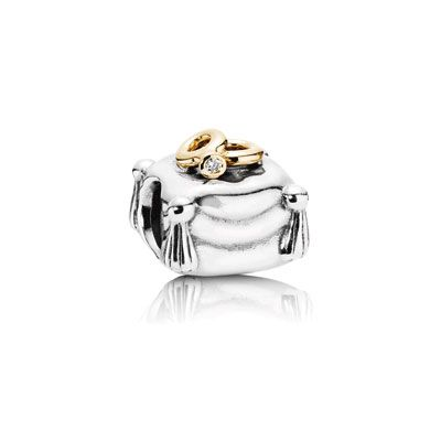 I'd love this for an engagement present :) (when he asks that is)  Charms: Pandora has  Sterling Silver, 14k Gold, and Two-Tone Charms | PANDORA