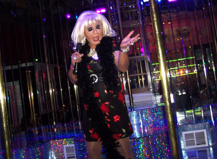 Performing at Larry Flynt's King of the Hustler Club in Las Vegas - 2014.